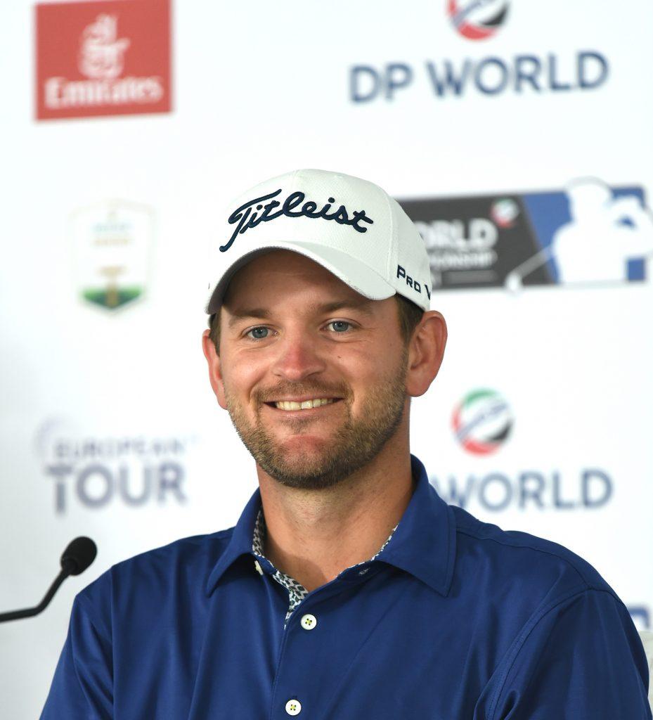 Bernd Wiesberger at the 2019 DP World Tour Championship, Dubai
