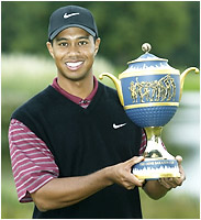 Tiger Woods 2002 World Golf Championship American Express Championship winner