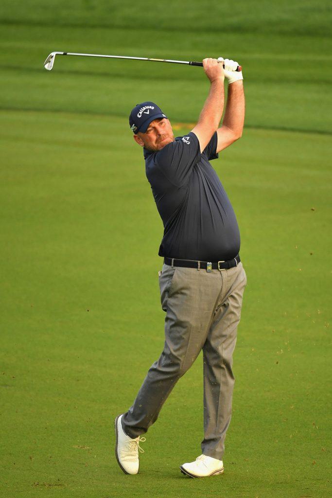 Thomas Bjorn held off Tiger Woods to win the 2001 Omega Dubai Desert Classic