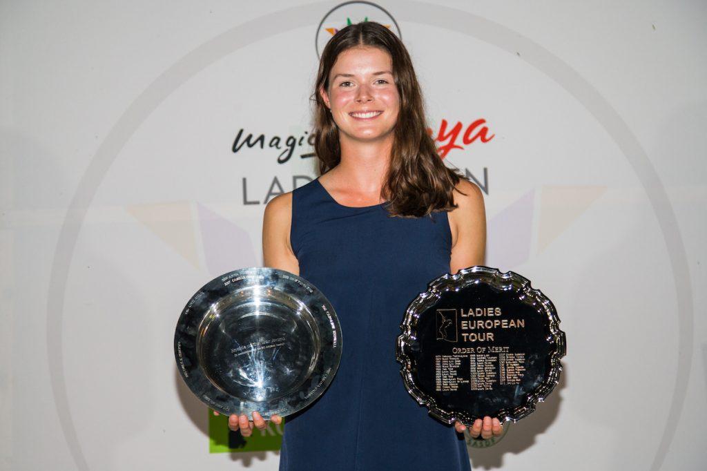Esther Henseleit Ladies European Tour Rookie of the Year and Order of Merit winner