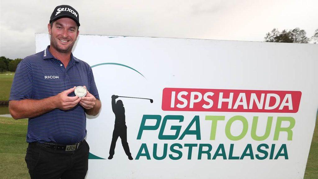 2019 ISPS Handa PGA Tour of Australasia Order of Merit winner Ryan Fox, from New Zealand