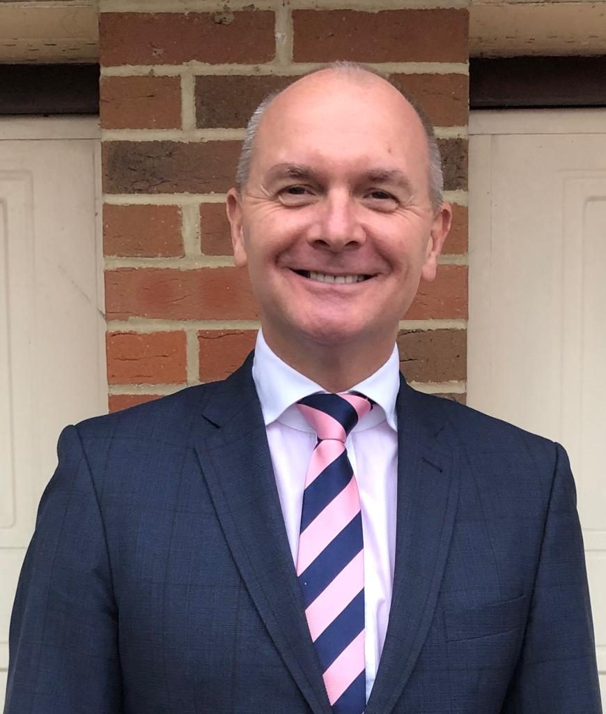 Marlborough Golf Club's Jez Tomlinson, the new England Golf chief executive from January 2020