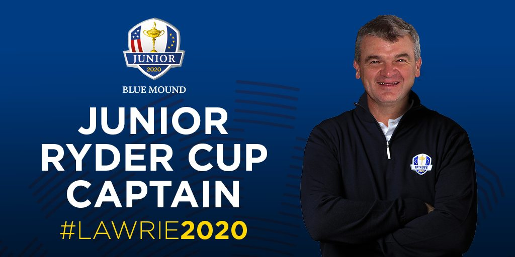 2020 EUROPEAN Junior Ryder Cup captain Paul Lawrie