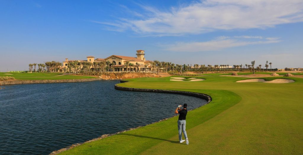 The Royal Greens Golf & Country Club in Saudi Arabia's King Abdullah Economic City (KAEC).