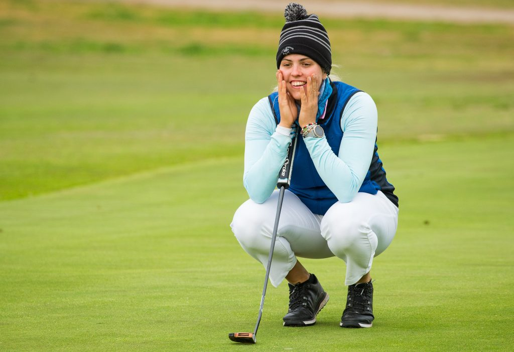 SCOTLAND'S ALISON MUIRHEAD IN THE FOURTH ROUND OF THE 2020 LET QUALIFYING SCHOOL AT LA MANGA