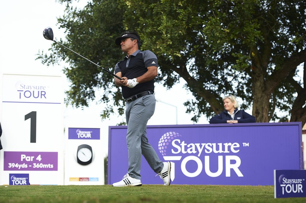 CANADIAN David Morland IV at the 2020 Staysure Tour's Qualifying School, at Pestana Golf Club, on the Algarve