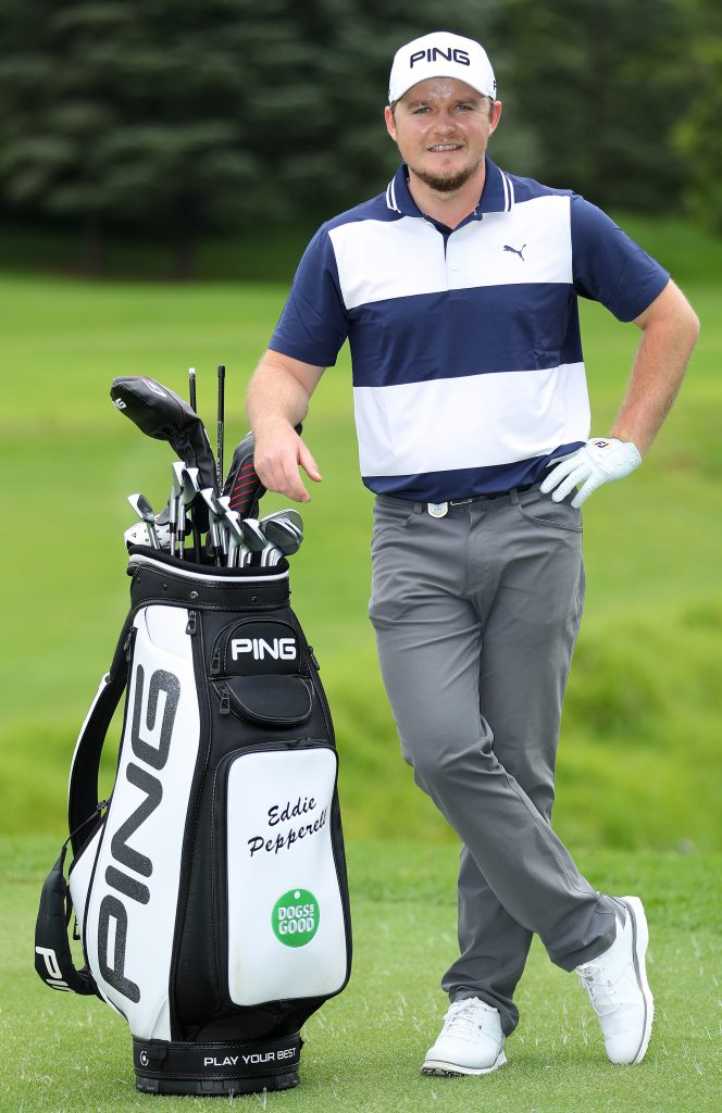Ping's new European Tour player Eddie Pepperell, from Frilford Heath Golf Club, in Oxfordshire.