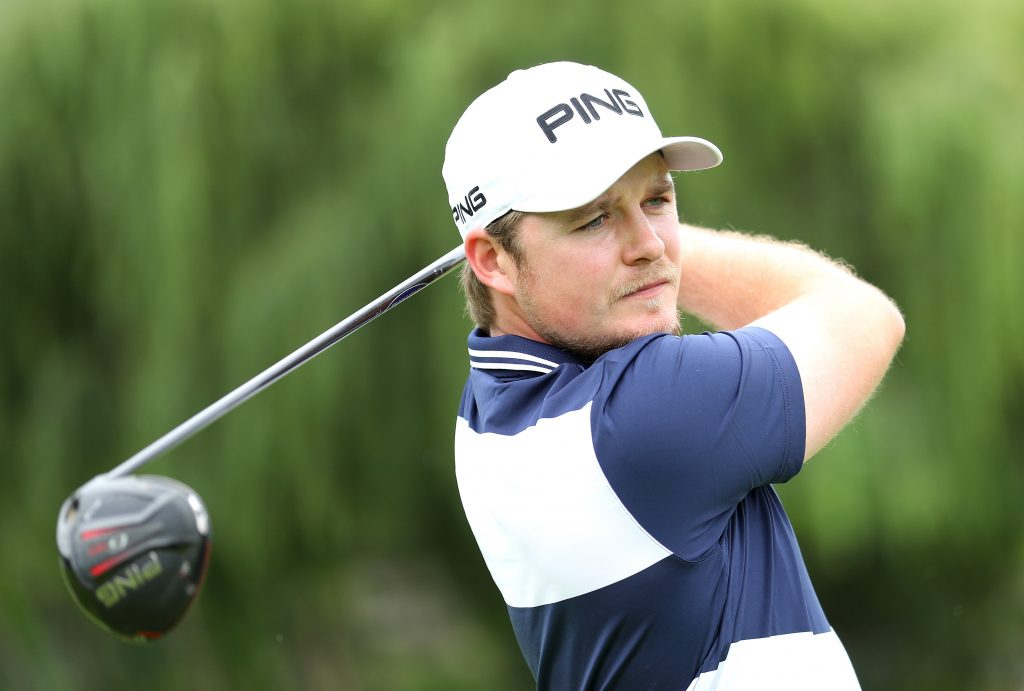 Eddie Pepperall plays a practice round at the 2019 South African Open at Randpark Golf Club