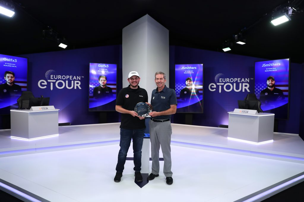EUROPEAN TOUR esports winner Payton Gordley