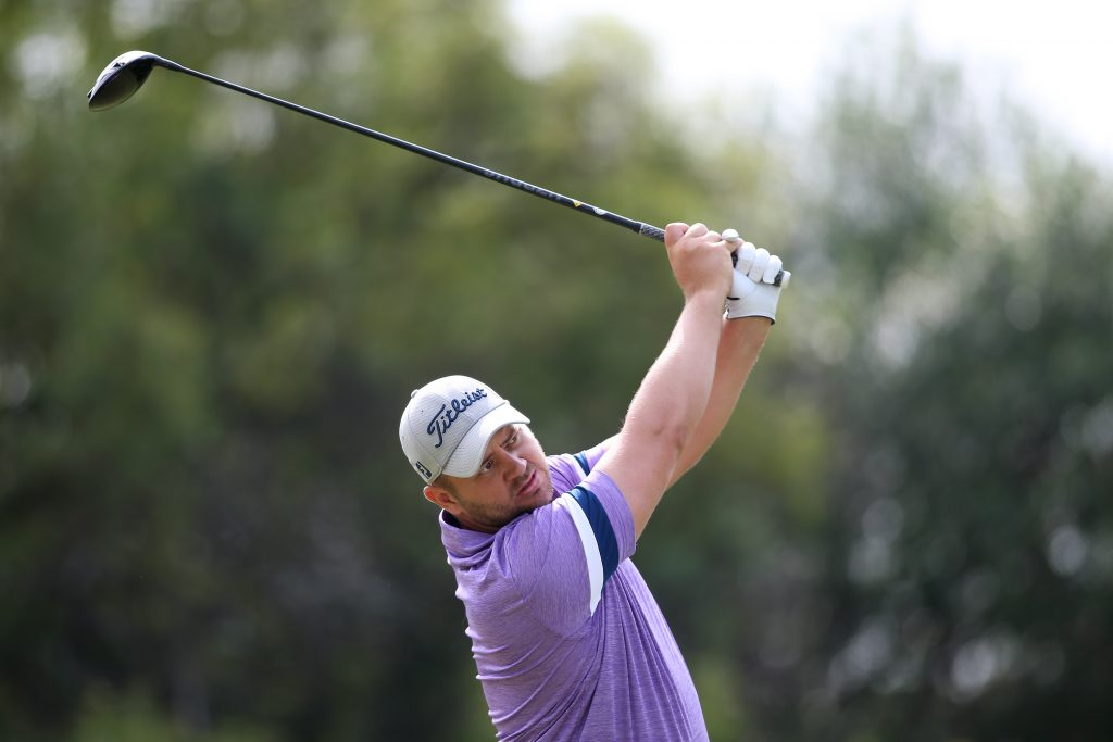 Daniel van Tonder, who lead the 2020 Limpopo Championship, a co-sanctioned event on the European Challenge and Sunshine Tours