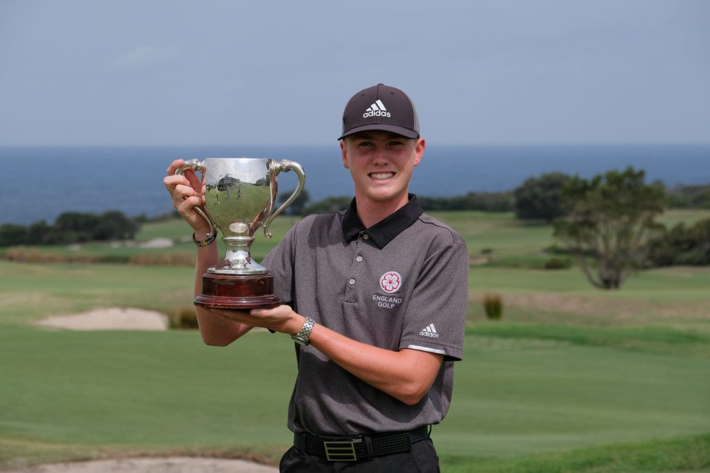 Ben Schmidt beat Callum Farr to win the 2020 New South Wales Amateur Championship at St Michael's Golf Club