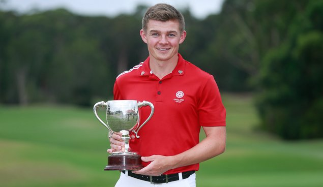 2017 New South Wales Amateur champion Scott Gregory, from Corhampton Golf Club