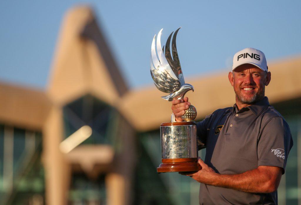 Lee Westwood the 2020 Abu Dhabi HSBC Championship winner
