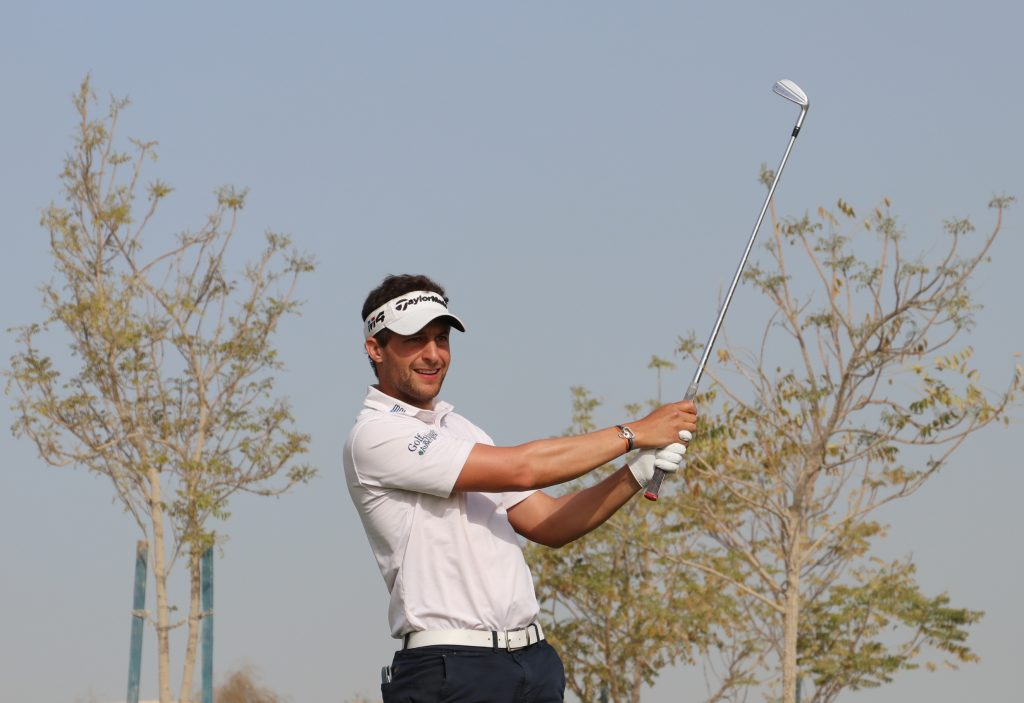 France's European Challenge Tour Antoine Schwartz led the first round of the MENA Tour's Ghala Open, at the Ghala Golf Club in Muscat, Oman
