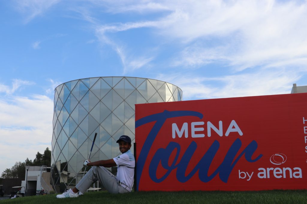 Saud Al Sharif is a member at the Royal Golf Club, which hosts the MENA Tour's 2020 Bahrain Open