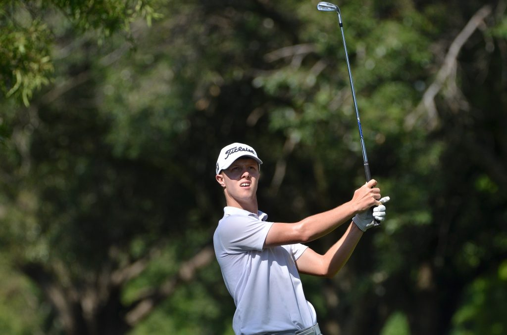 SCOTLAND'S DARREN HOWIE AT THE 2020 SOUTH AFRICAN AMATEUR CHAMPIONSHIP AT ROYAL JOHANNESBURG AND KENSINGTON GOLF CLUB