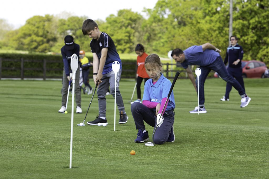 Young people are being attracted to play golf by England Golf and the Golf Foundation
