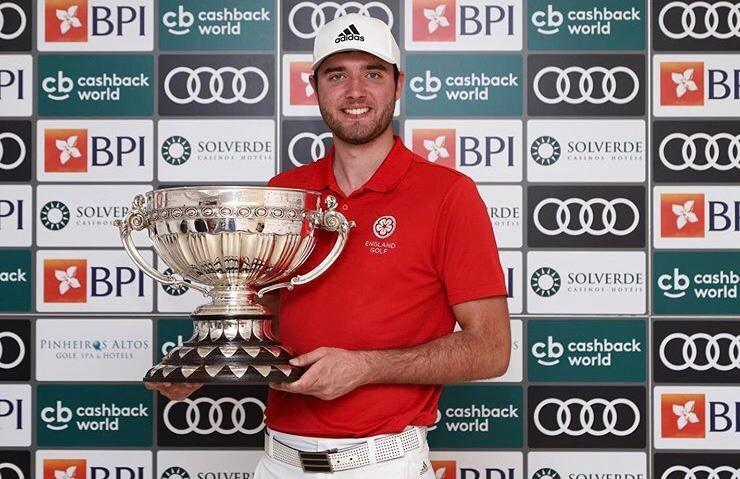 Hanbury Manor's Harry Goddard the 2020 Portuguese International Amateur Champion