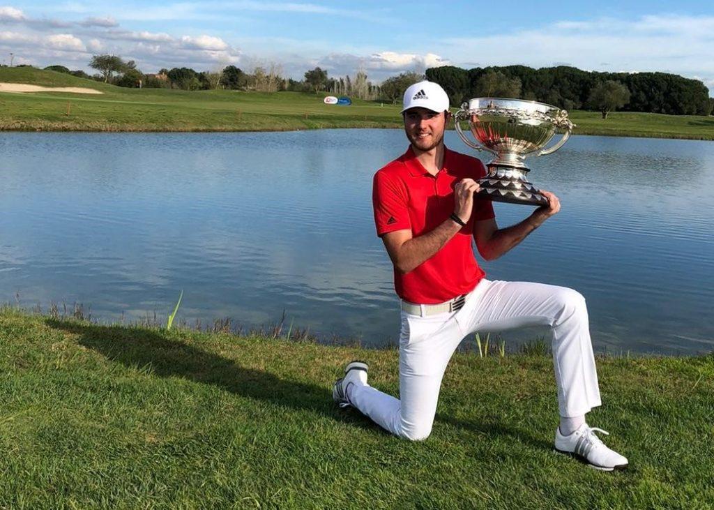 2020 Portuguese Amateur International champion Harry Goddard from Hanbury Manor