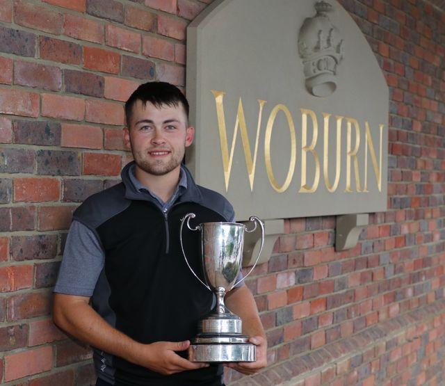 2018 B.B.&O. Amateur Champion Olly Huggins at Woburn Golf & Country Club