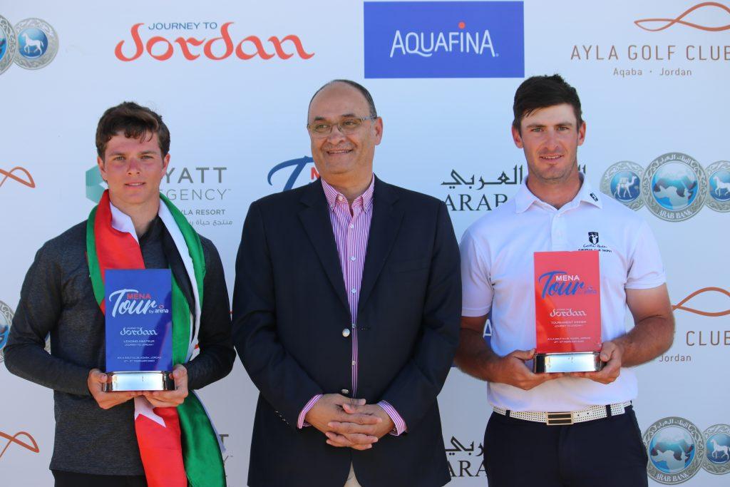 MENA Tour Journey to Jordan No. 1 winner David Langley from Castle Royle Golf Club