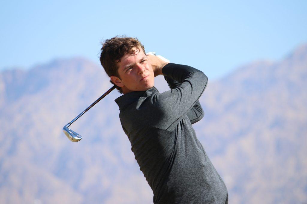 Jordan amateur golfer Shergo Al Kurdi playing in the Journey to Jordan No. 1