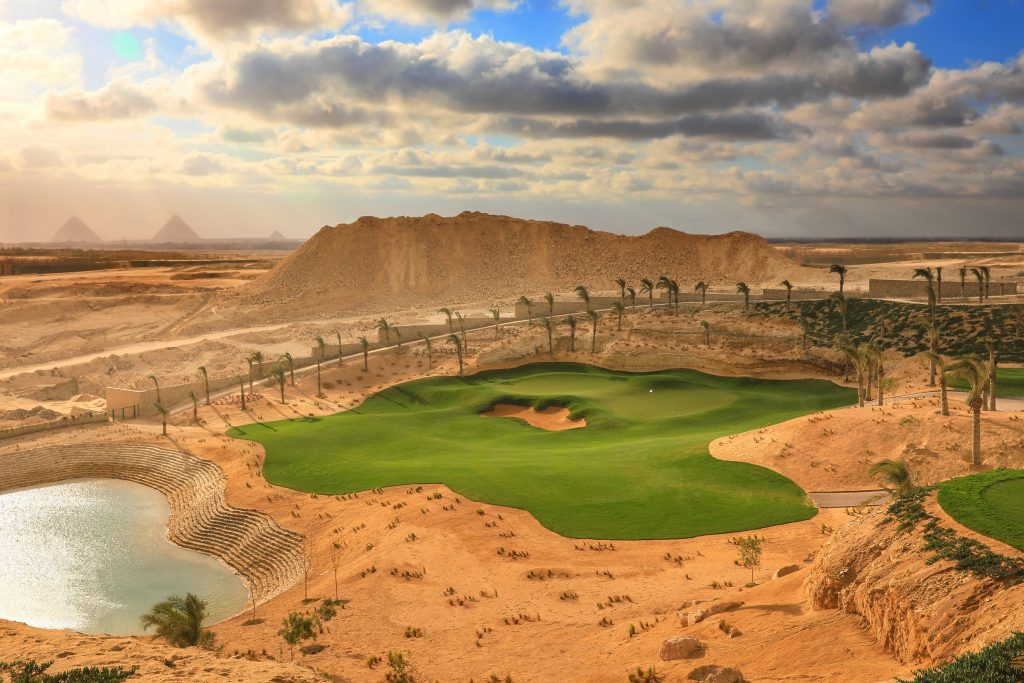 The MENA Tour's 2020 NewGiza Open will be played at the new NewGiza Golf Club with Egypt's famous Pyramids as its backdrop