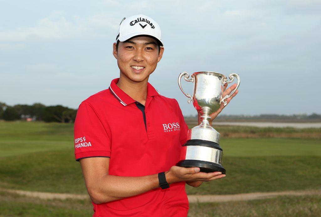 2020 ISPS Handa Vic Open winner Min Woo Lee