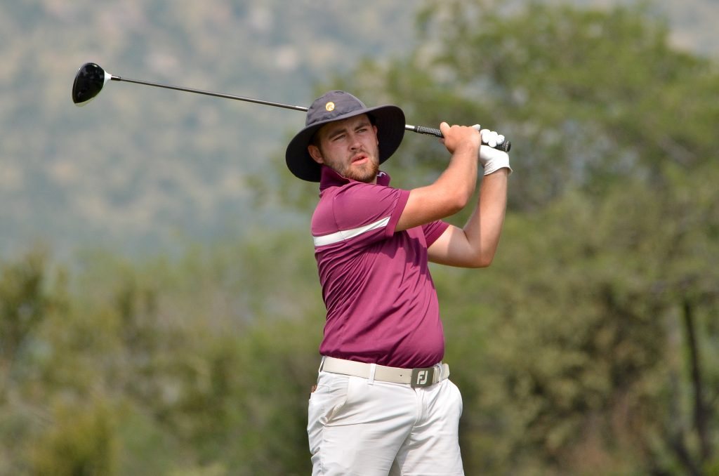 Frilford Heath's Olly Huggins, who lost a play-off at the 2020 African Amateur Stroke Play Championshp at Leopard Creek