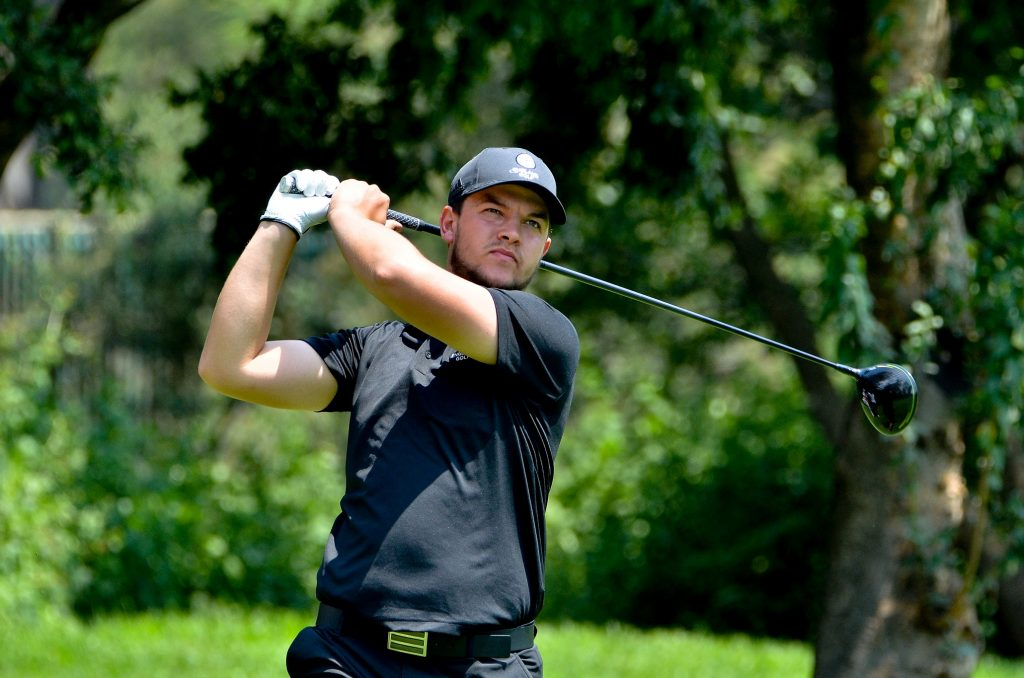 YORKSHIRE'S SAM BAIRSTOW AT THE 2020 SOUTH AFRICAN AMATEUR CHAMPIONSHIP AT ROYAL JOHANNESBURG AND KENSINGTON GOLF CLUB