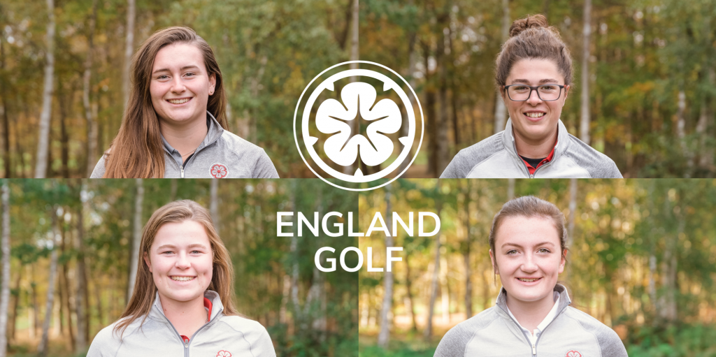 The four members of the 2020 England Women's Squad