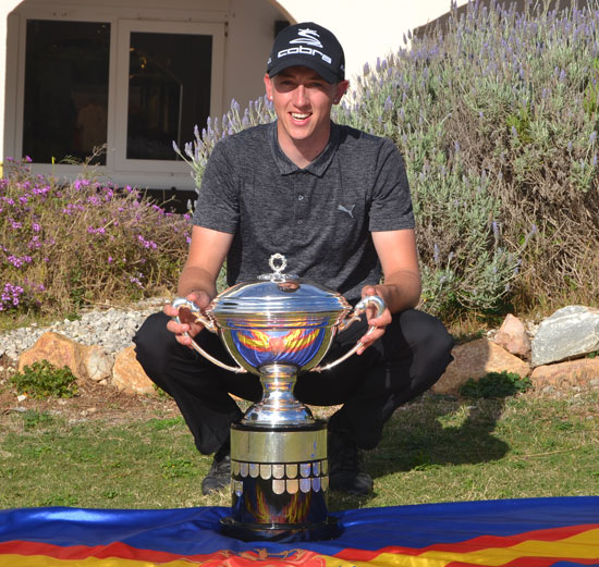 2018 Spanish Amateur Champion Billy McKenzie from Rowlands Castle
