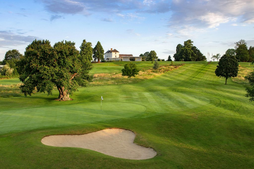 The Deerpark course at Tewkesbury Park which will host the 2020 PGA Super 60s Championship in August