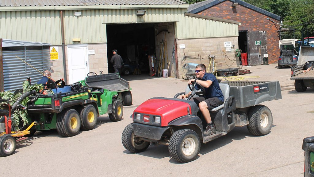 Greenkeepers can work during the coronavirus pandemic
