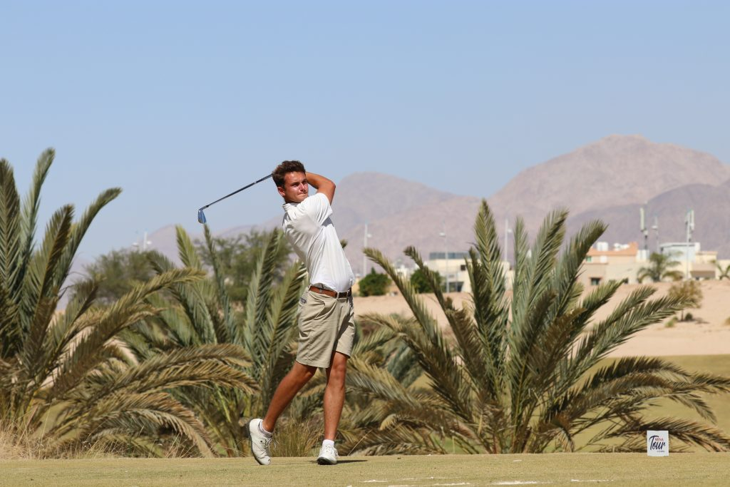 Royal Wimbledon's Ryan Lumsden winner of the 2020 Journey to Jordan No. 2 on the MENA Tour
