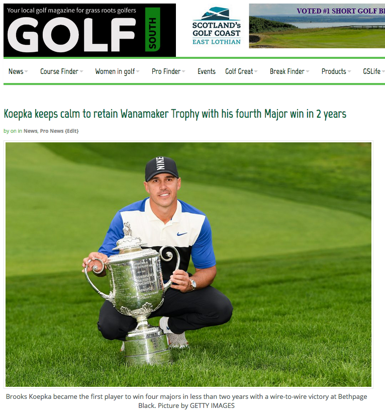 Brooks Keopka the 2019 USPGA Champion – his defence at San Francisco's TPC Harding Park has been put on ice