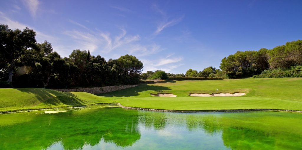 The famous 17th hole at Valderrama
