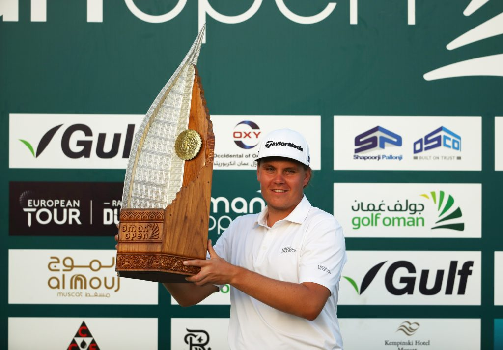 Valimaki takes 1st title at Oman Open after winning…