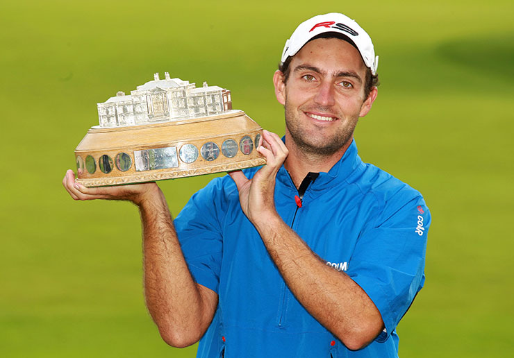 Scottish Open winner Edoardo Molinari