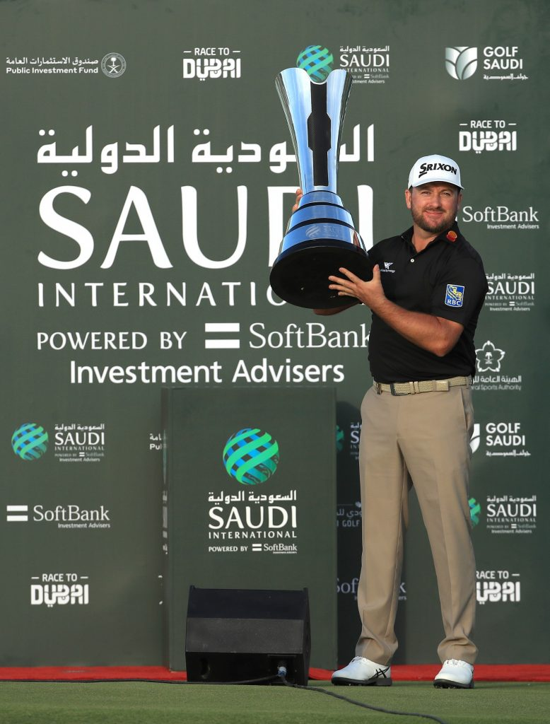 Graeme McDowell – winner of the 2020 Saudi International