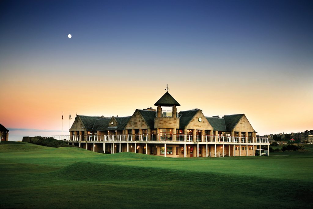 The St Andrews Links Clubhouse