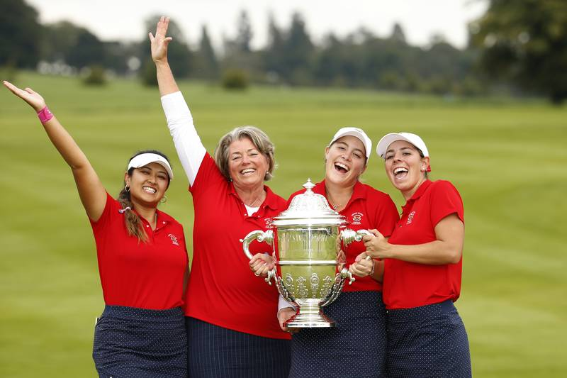 The USA won the Espirito Santo Trophy at the 2018 World Amateur Team Championship at Carton House, in Ireland