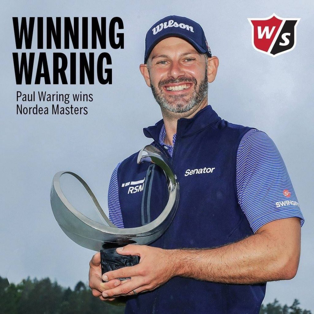 Cheshire's Paul Waring is in the featured group at this weekend's BMW Indoor Invitational which will be played online over Royal Portrush's Dunluce Links