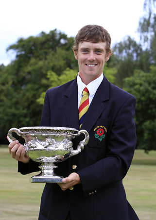Tommy Fleetwood, who won the 2010 English Amateur Championship at Little Aston