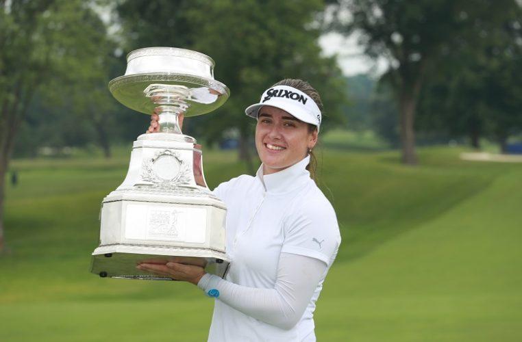 2019 KPMG Women's PGA Champion Hannah Green