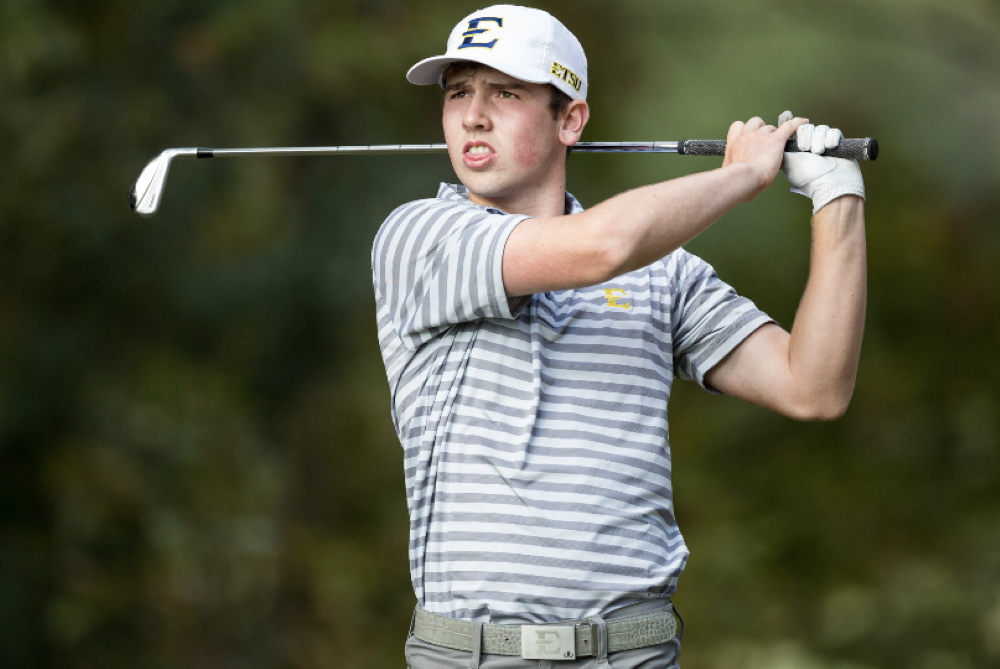 East Tennessee State University freshman Archie Davies, from Carlisle Golf Club, has won the Wales Golf Amateur of the Year award for the second-year running