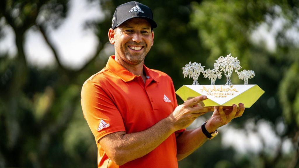 Andalucia Masters winner Sergio Garcia
