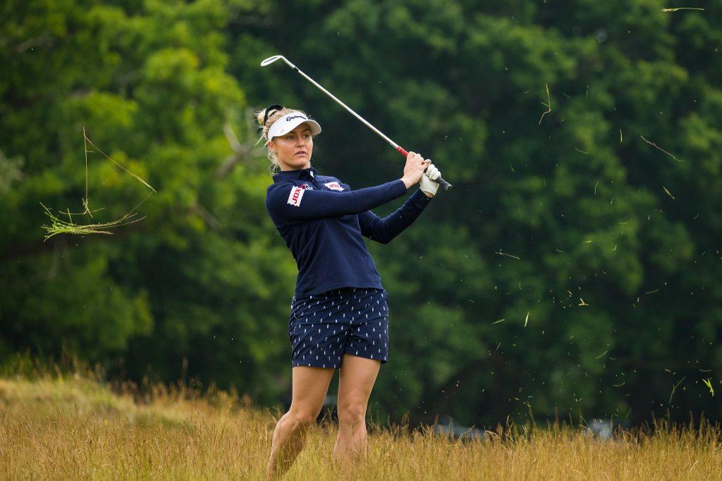Woburn's Charley Hull won the first Rose Ladies Series event at Brokenhurst Manor