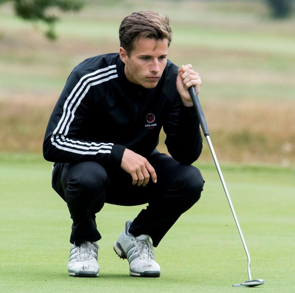 Matthew Jordan grew up playing golf over the Hoylake links at Royal Liverpool Golf Club