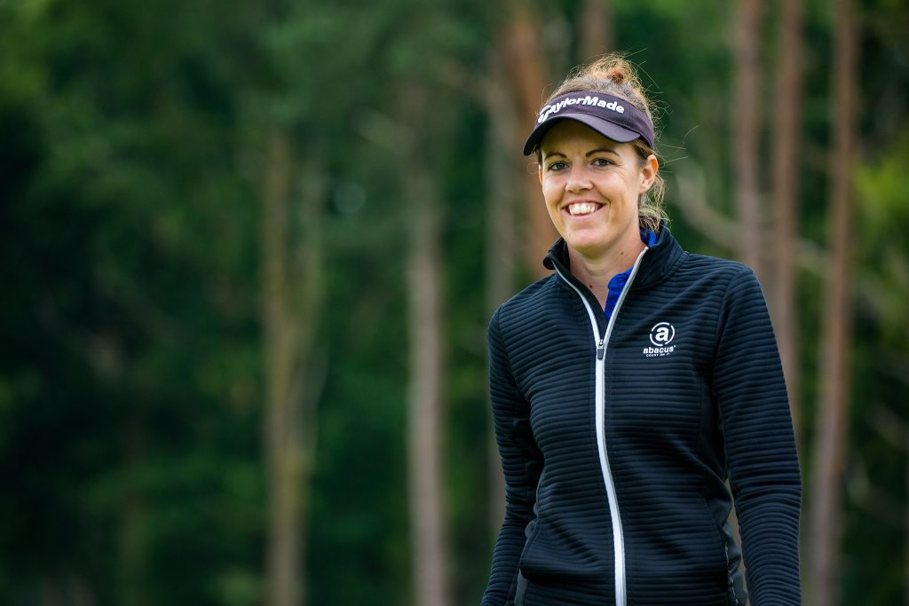 Meghan MacLaren was five-under after six holes at Moor Park in the Rose Ladies Series – but would suffer a two shot penalty for playing the wrong ball on the 11th.